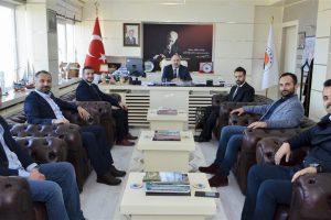 Sinop Ticaret Odası Genç Girişimciler Kurulundan Rektörümüze Ziyaret